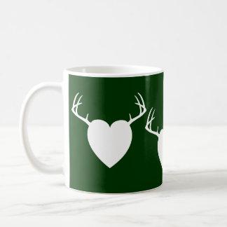 Het hart van de Geweitakken van de Jacht van Koffiemok