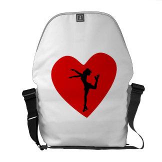 Het Hart van de kunstschaats Schooltassen