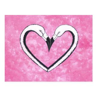 Flamingo vogel liefde hart briefkaarten flamingo vogel for Door het hart van china