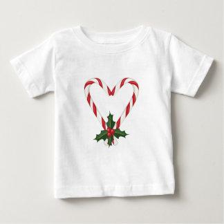 Het Hart van de pepermunt Baby T Shirts