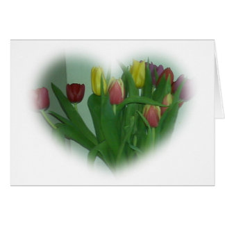 Het Hart van de tulp Briefkaarten 0