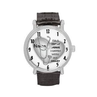 Het Hart van de Verpleegster van de nacht Horloge