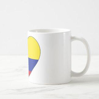 Het Hart van de Vlag van Colombia Koffiemok