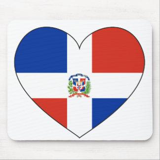 Het Hart van de Vlag van de Dominicaanse Republiek Muismat
