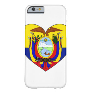 Het Hart van de Vlag van Ecuador Barely There iPhone 6 Hoesje