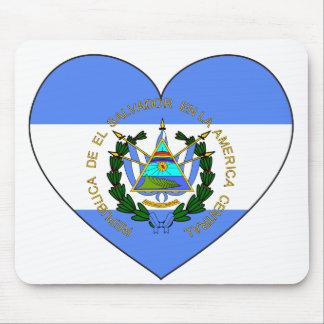 Het Hart van de Vlag van El Salvador Muismat