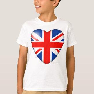 Het Hart van de Vlag van Groot-Brittannië T Shirt