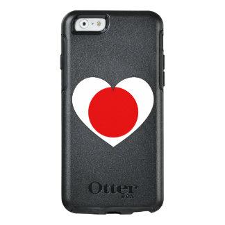 Het Hart van de Vlag van Japan OtterBox iPhone 6/6s Hoesje