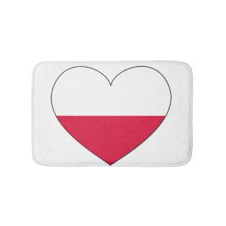 Het Hart van de Vlag van Polen Badmat
