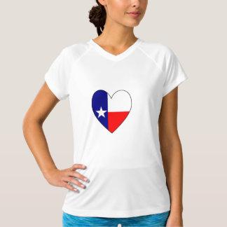 Het Hart van de Vlag van Texas T Shirt