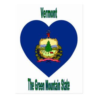 Het Hart van de Vlag van Vermont Briefkaart