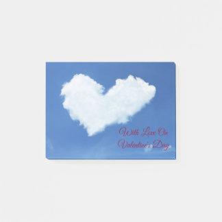 Het Hart van de wolk Post-it® Notes