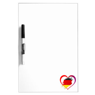 Het hart van Duitsland Whiteboard