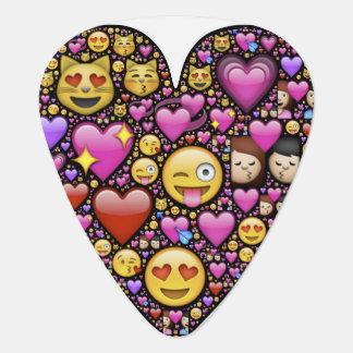 Het Hart van Emoticon Gitaar Plectrum