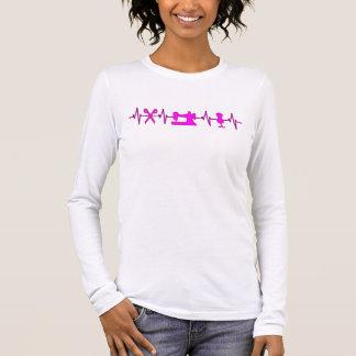 Het Hart van het electrocardiogram slaat voor het T Shirts