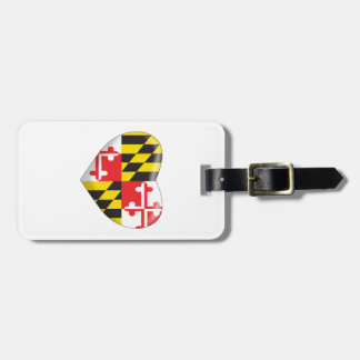 Het Hart van Maryland Kofferlabels