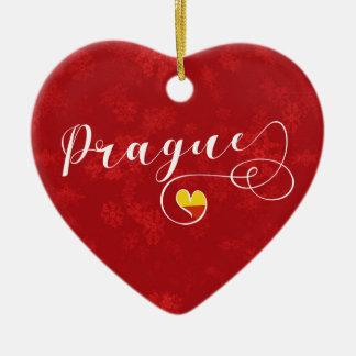 Het Hart van Praag, het Tsjechische Ornament van