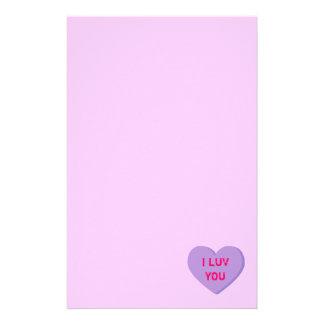 Het Hart van Valentijn Briefpapier