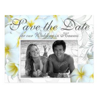 Het Hawaiiaanse Huwelijk van de Bestemming bewaart Briefkaart