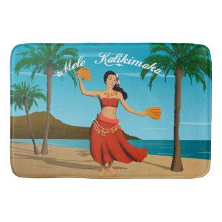 Het Hawaiiaanse Vintage Briefkaart van Mele Badmatten