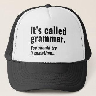 Het heeft Grammatica geroepen Trucker Pet