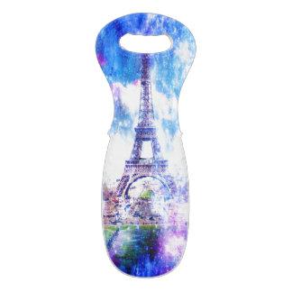 Het Heelal Parijs van de regenboog Wijndraagtas