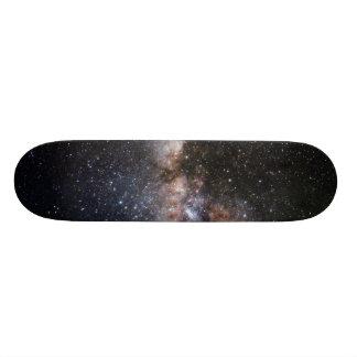 Het Heelal van de Melkweg van de Nevel van de Persoonlijk Skateboard