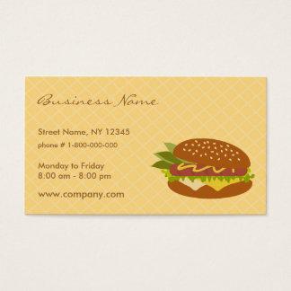 Het heerlijke Visitekaartje van de Sandwich Visitekaartjes