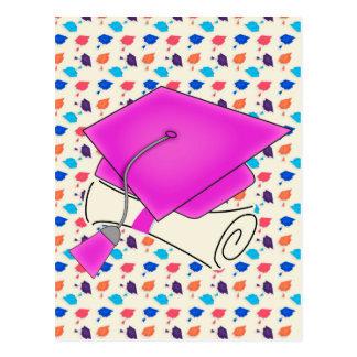 Het heet Roze Pet van Afstuderen en Diploma, Briefkaart