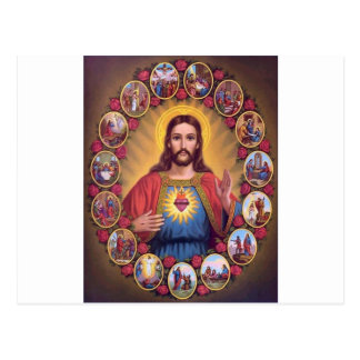 Het heilige Hart van Jesus Briefkaart