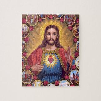 Het heilige Hart van Jesus Legpuzzel