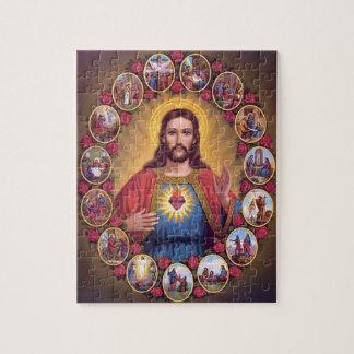 Het heilige Hart van Jesus Puzzel