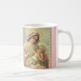 Het heilige Maagdelijke kind Jesus Mug Gift van Basic Witte Mok