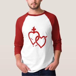 Het heilige & Vlekkelooze Overhemd van Harten T Shirt
