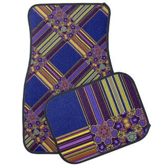 Het heldere Boheemse Elegante Patroon van Boho Auto Vloermat