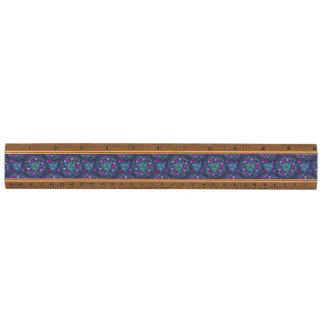 Het heldere Boheemse Elegante Patroon van Boho Esdoorn Liniaal