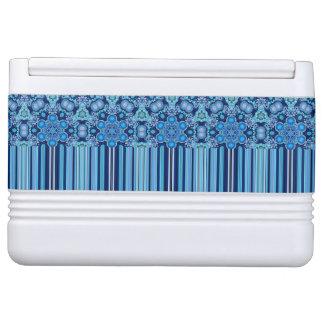 Het heldere Boheemse Elegante Patroon van Boho Igloo Koelbox