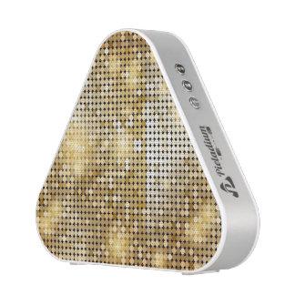 Het heldere fonkelende gouden lovertje schittert bluetooth luidspreker