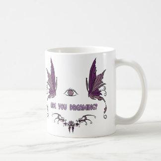 Het heldere het dromen ontwerp van de koffiemok