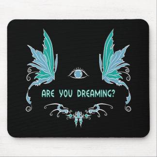 Het heldere het dromen ontwerp van het muismat