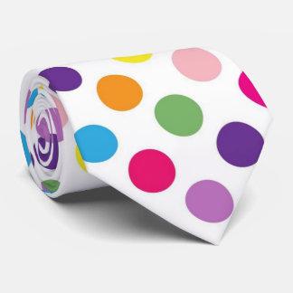Het heldere stropdas van het stippatroon
