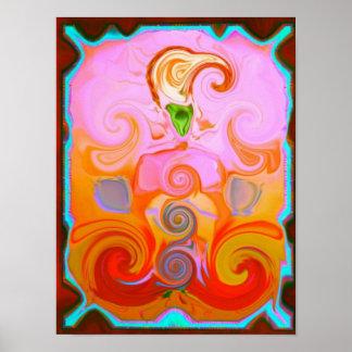 Het Helen van Chakra Poster