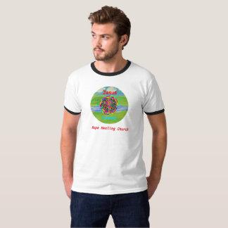 Het Helen van de hoop Kerk Christelijke Jesus T Shirt