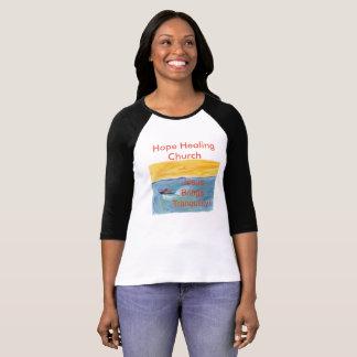 Het Helen van de hoop Overhemd van het Honkbal van T Shirt