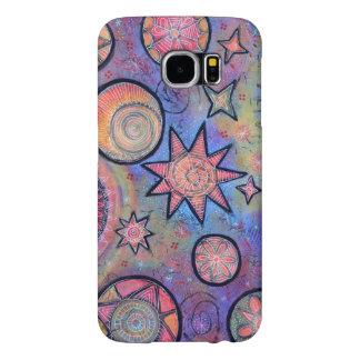 Het helende Lichte Kosmische Patroon van Abstract Samsung Galaxy S6 Hoesje