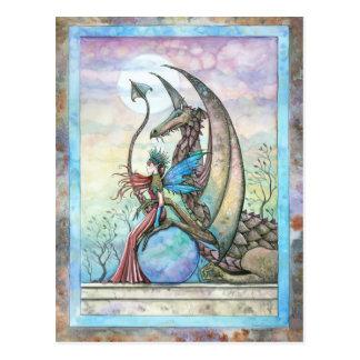 Het hemel Briefkaart van de Fee Compainions en van