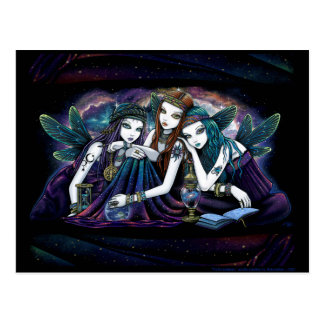 Het hemelBriefkaart van de Zusters van de Fee Briefkaart