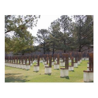 Het Herdenkingsbriefkaart van de Stad van Oklahoma Briefkaart