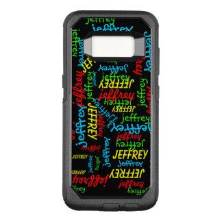 Het herhalen van de Melkweg van Samsung van de OtterBox Commuter Samsung Galaxy S8 Hoesje