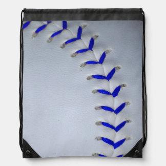 Het het blauwe Honkbal/Softball van Steken Rugzak